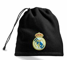 Halsband Beanie Mütze Schal Kinnriemen 4 in 1 patch Real Madrid bestickt