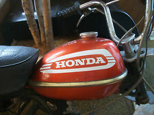 1974 HONDA QA 50 GAS TANK DECALS,,MINI TRAIL
