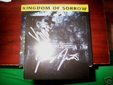 BRAND NEW SS KINGDOM OF SORROW SIGNED AUTOGRAPHED CD HATEBREED JASTA WINDSTEIN