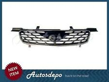 For 2000-2003 SENTRA CA/SE/GXE GRILLE CHROME FRAME WITH BLACK INSERTS NEW
