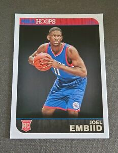 2014-15 Hoops #263 Joel Embiid RC B CHC