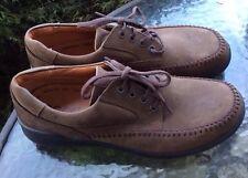 EUC Ecco Seawalker Brown Casual Shoes Sz 9-9.5/43