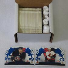 2002-03 Crown Royale Hockey Blue Parallel Set (1-140) Spezza Nash