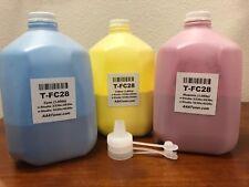 (C M Y) Toner Refill for Toshiba 2330c 2830c 3530c 4520c,TFC28 (1,000g x 3)