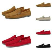 Mens Pumps Slip On Loafers Casual Flat Driving Moccasins Gommino Outdoor Shoes