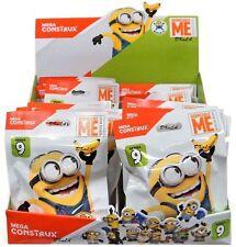 Lot of 4 Despicable Me - Minions Series 9 - MEGA CONSTRUX BLOKS Blind Bags NIP