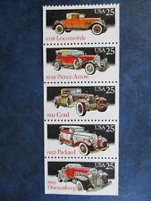 GOLDEN AGE  OF THE LUXURY CARS - the U. S. Stamp Collection  #2385a