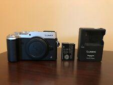 Used Panasonic Lumix DMC-GX8 Mirrorless Digital Camera Body (Silver) #154