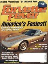 Corvette Fever Magazine Aug 2003 American's Fastest Street Driven Lingenfelter
