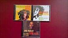 3 Bob Marley CD's-Riding High/Soul Rebel/Keep on Moving