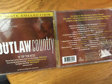 """OUTLAW COUNTRY""----15 TOP 10 HITS NEW SEALED CD !"