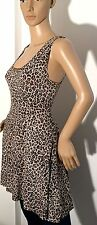 Atmosphere Skater Animal Print Sleeveless Dresses for Women