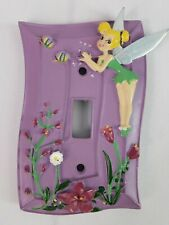 Disney Tinkerbell Fairy Light Switch Plate  Cover  Outlet Cover  Wall Plate