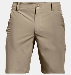Under Armour Men's UA Mantra Storm Outdoor Shorts Khaki Size 30 1327527-233 $60