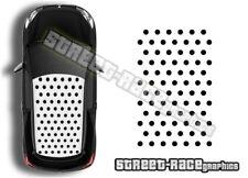 Citroen DS3 OTT058 roof polka dots spots graphics stickers decals