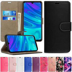 For Huawei P Smart 2018 /2019 /2020 Wallet Flip Case Stand Phone Magnetic Cover