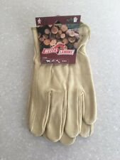 3 pair New Wells Lamont Large Leather Work Gloves