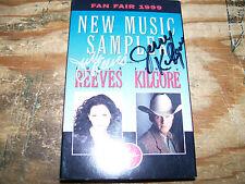 Fan Fair 1999 New Music Sampler cassette-AUTOGRAPHED!!