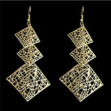 New Women's Square Diamond Shape Abstract Party Earrings Drop Jewellery Gift