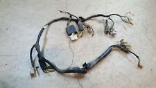 1974 Honda CB350F TESTED Wiring Harness Wire Loom main electric connectors