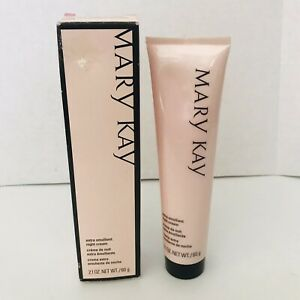 Mary Kay Extra Emollient Night Cream Full Size Dry Skin 2.1oz  NEW Free Shipping