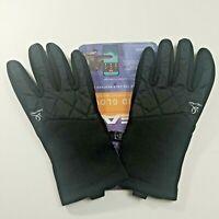 Head Women's Black Hybrid Sensatec Touchscreen Running Gloves -- S/P