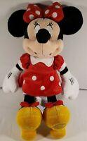 "Disney Store Minnie Mouse Plush Doll Stuffed Animal 19"" W818-7201-5-15024"