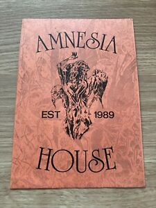 Amnesia House - Coventry - 1991 Rave Flyer / Acid House / Club - DJ Grooverider