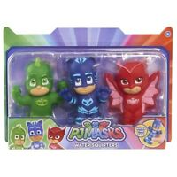 PJ Masks 24610 3 Pack of Water Squirters Bath Toys