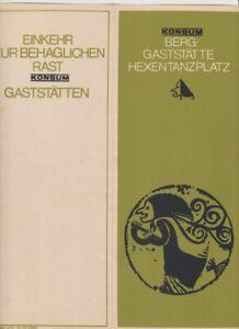 Thale,Berggaststätte Hexentanzplatz,Speisekarte.Menu,DDR,von 1974,Mark-Preise