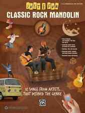 "JUST FOR FUN ""CLASSIC ROCK MANDOLIN""-EASY MANDO-TAB MUSIC BOOK BRAND NEW ON SALE"