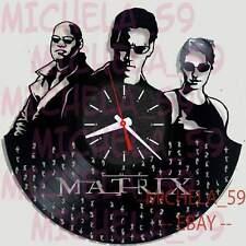 Orologio Da Parete su Disco in Vinile Vinyl Record Clock Film Movie  - MATRIX