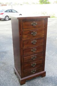 Tall Narrow Lingerie Jewelry Chest of Drawers 2246