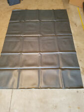 Vintage Naugahyde Fabric Steel Grey Marine Auto Upholstery Vinyl 3 Sq. Yards