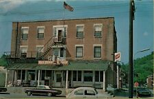 Denniston House Street View VW Bug Schlitz Beer Sign Cassville WI Postcard C8