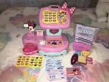 Disney Minnie Toontown English And Japanese Cash Register