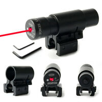 Tactical Red Laser Lazer Beam Dot Sight Scope w/Mount Gun Rifle Pistol Hunting