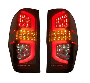 *LED* PERFORMANCE TAIL  LIGHT BACK LAMP (SMOKED) for FORD RANGER PX 2011 - 2020