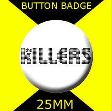 THE KILLERS - LOGO - Button Badge 25mm # CD 11