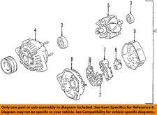 TOYOTA OEM 98-99 Land Cruiser-Alternator 2706050250