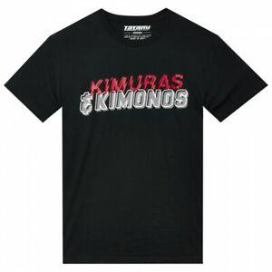 Tatami Kimuras SS T-Shirt Black Tee BJJ Casual No-Gi Grappling Workout Jiu Jitsu