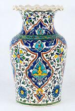 Antique Ceramic Persian Iznik Style Vase