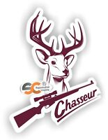 Sticker Chasse / Chasseur - Autocollant Chass009