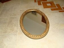 VINTAGE WALL MIRROR WITH CABINET
