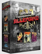 Coffret 3 DVD Les Grands Classiques du film Allemand vol 1