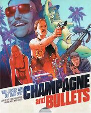 Champagne & Bullets aka GetEven / Road to Revenge Blu Ray Vinegar Syndrome Slip