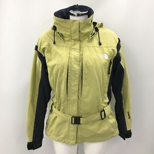 The North Face Jacket Size UK M Short Length Green Lime Outerwear Women's 482785