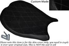 BLACK DIAMOND STITCH DESIGN CUSTOM FITS DUCATI 1198 848 1098 FRONT SEAT COVER