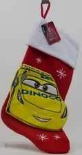 "Holiday Christmas Disney Cars Cruz Ramirez 19"" Red & Yellow Stocking NWT"