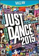 NINTENDO WII U VIDEO GAME JUST DANCE 2015 BRAND NEW AND SEALED